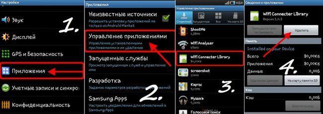 Всі способи видалення встановлених додатків, ігор на ос android.