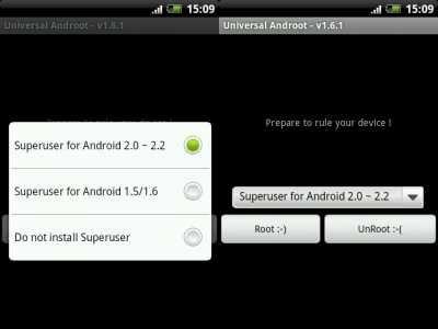 Інструкція по отриманню root права на ос android за допомогою додатка universal androot.