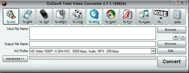 Програма-конвертер OJOsoft Total Video Converter