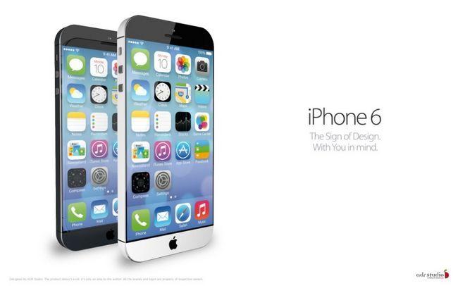 Нові характеристики iphone 6 розкрито
