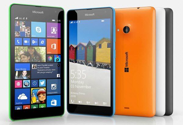 Опис смартфона nokia lumia 535
