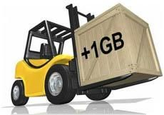 Завантаження файлів великих розмірів в PHP